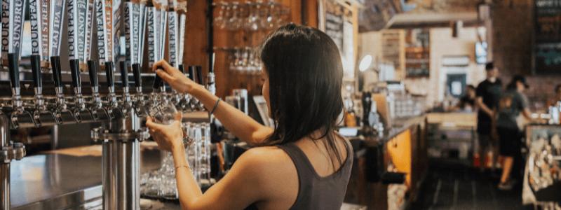 generating revenue for bars