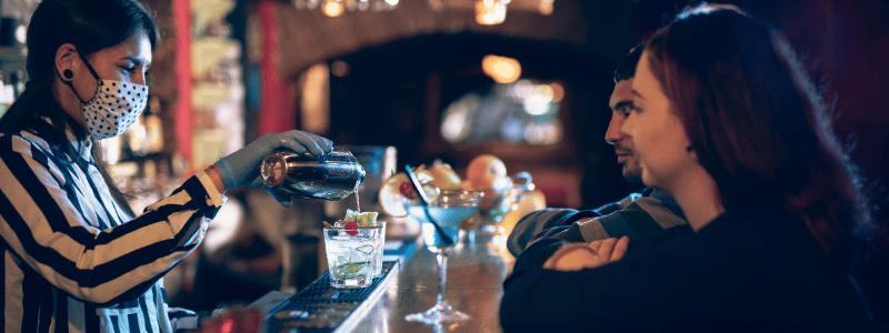 improving bar service for sales